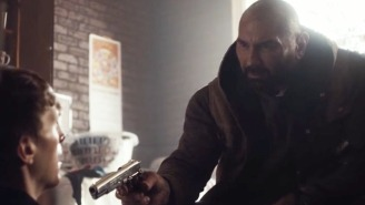 Watch A Scene From Dave Bautista's Insane-Looking New Action Movie 'Bushwick'