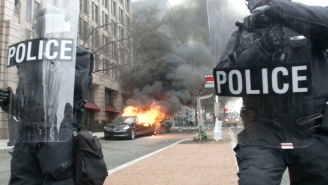 Anti-Trump Protesters Arrested On Inauguration Day Face 'Felony Rioting' Charges And Up To 10 Years In Prison