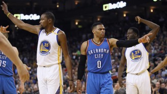 Old Friends Russell Westbrook And Kevin Durant Sit Atop The Opening Odds For 2017-18 NBA MVP