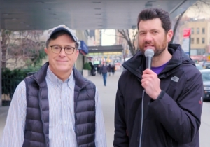 Billy Eichner And Stephen Colbert Ask 'Real' New Yorkers What They Think Of Donald Trump