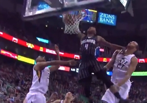 Elfrid Payton Looked Like Aaron Gordon On This Thunderous One-Handed Dunk