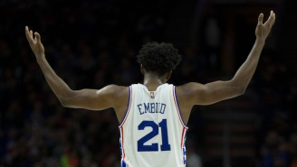 Joel Embiid Sealed Another Sixers Win And Fans Chanted 'Trust The Process'