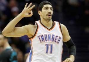Enes Kanter Tricked Everyone Into Thinking The Thunder Signed Rudy Gay