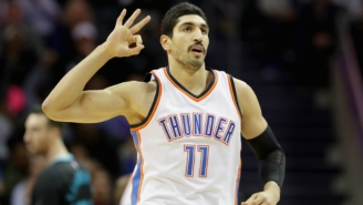 Enes Kanter Sympathized With Roy Williams In Their Mutual Hate For Chairs