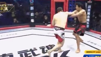 A Dirty Fighter Used A Fake Glove Touch To Score An Instant Knockout
