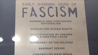 The Holocaust Museum's 'Early Warning Signs Of Fascism' Poster Is Unfortunately Familiar