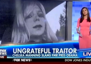 Donald Trump Parroted Fox News Minutes After The Network Called Chelsea Manning An 'Ungrateful Traitor'