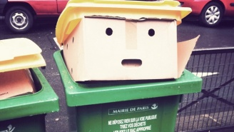This Garbage Can That Looks Like Donald Trump Is The Internet's Newest (And Stinkiest) Meme