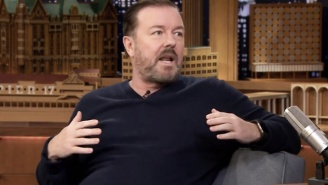 Just Like The Rest Of Us, Ricky Gervais Likes Eating And Drinking Too Much To Lose Weight