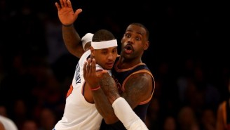 Carmelo Anthony Doesn't Think He's The Playmaker LeBron James And The Cavs Need