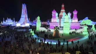 Take A Visual Tour Of China's Absolutely Stunning Ice and Snow Sculpture Festival