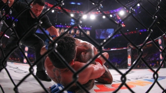 A Bellator Fighter Has Been Suspended For Not Disclosing He Got Stabbed