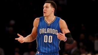 Aaron Gordon Barely Beat The Third Quarter Buzzer With A Tip Slam