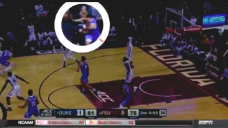 Duke's Grayson Allen Shoved A Florida State Coach To The Ground In His Latest Controversial Incident