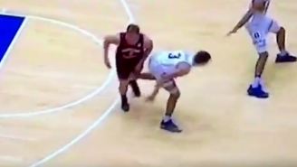 Grayson Allen Is Now Channeling Draymond Green With This Flailing Nut Shot