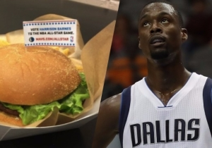 Harrison Barnes Officially Has His Own 'All-Star' Burger In Dallas