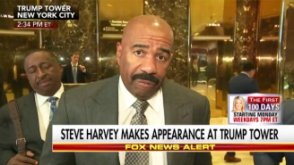 Steve Harvey May Team Up With Ben Carson To 'Bring Positive Change To Inner Cities' For Donald Trump