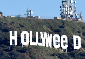The Alleged Mastermind Behind The 'Hollyweed' Sign On New Year's Day Wanted To Kick Off 2017 With Positivity