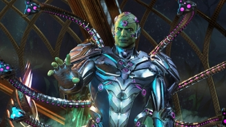Batman Takes On Superman And Brainiac In The Grim, Goofy Trailer For 'Injustice 2'