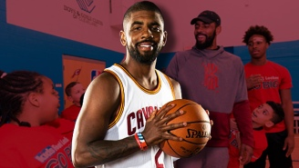 Kyrie Irving Dishes On The All-Star Game, Inspiring Kids, And Why He Has That 'Friends' Tattoo