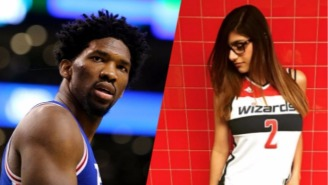 Joel Embiid Took The Low Road In Response To Mia Khalifa's Instagram Trolling