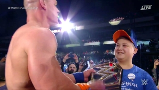 John Cena Shared His 16th World Championship With A Special Fan