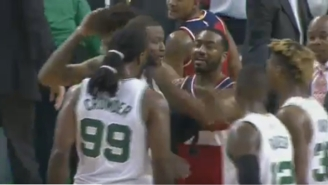 John Wall Appeared To Slap Jae Crowder In The Face After The Final Buzzer