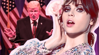 'SNL' Scorecard: Felicity Jones Hosts The Night Putin Blackmails Trump Over His 'Pee Pee Tape'
