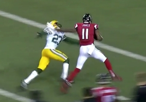Julio Jones Made The Packers' Secondary Look Silly Multiple Times On This Touchdown