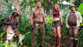 Karen Gillan Swears There's A Reason Behind Her Already Controversial 'Skimpy Outfit' In 'Jumanji'