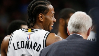 Gregg Popovich And the Spurs Never Expected Kawhi Leonard To Become Their New Star