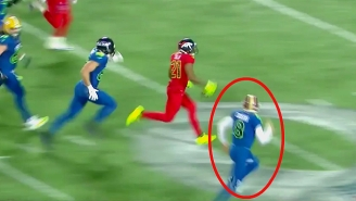 Kirk Cousins Chasing Down And Stripping Aqib Talib Was The Best Pro Bowl Moment