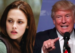 Kristen Stewart Reminds Us About All Those Weird Tweets Trump Directed At Her