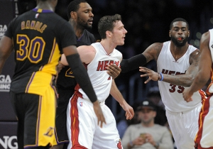Jordan Clarkson Squared Up To Fight Goran Dragic After Shoving Him To The Ground