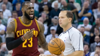 LeBron James Is Fed Up With The Way He's Been Officiated Lately
