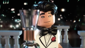 LEGO Batman Ushers In 2017 Channeling 'The Great Gatsby'