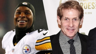 Le'Veon Bell Dropped An Incredible Skip Bayless Diss Track Called 'Shrimp Bayless'