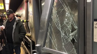 A Commuter Train Derails In Brooklyn, Causing 'Total Chaos' And Injuring Dozens Of People