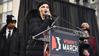 Madonna's F-Bombs Highlight Appearances Made By Notable Women In Support Of The Worldwide Women's Marches