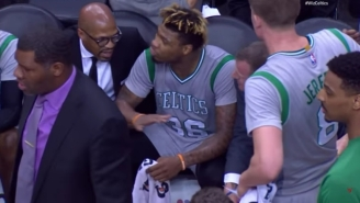 Marcus Smart Apologized After A Huge On-Court Fight With Celtics Coaches