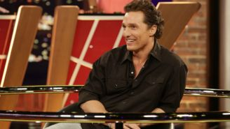 What's On Tonight: Matthew McConaughey Kicks Off A New Celebrity Game Show