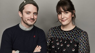 Let's Get Political With Melanie Lynskey And Elijah Wood At Sundance