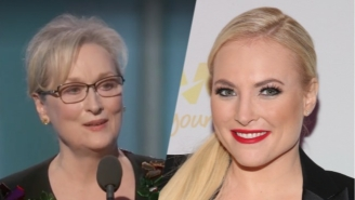 The Internet Leaps To Meryl Streep's Defense After Meghan McCain Says Her Speech Is Why Trump Won