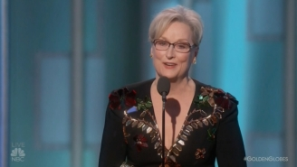Meryl Streep Didn't Play It Safe With Her Criticism While Accepting Her Cecil B. DeMille Award
