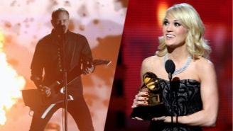 The First Round Of Grammy Performers Is Led By Metallica And Carrie Underwood