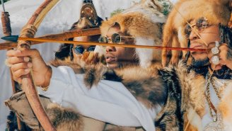 Yes, Migos Are Really Shooting Bow And Arrows In Their 'T-Shirt' Video