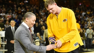 Timofey Mozgov Really Misses Cleveland And Still Has Love For The Cavs