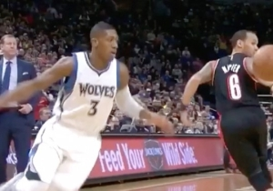 Kris Dunn Ruined Shabazz Napier With A Ridiculous Move To The Rim