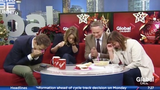 Bid Adieu To 2016 One Last Time By Reliving December's Best News Bloopers