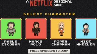 Fill Any Netflix-Sized Hole In Your Heart With This Video Game Starring Pablo Escobar & Mike Wheeler